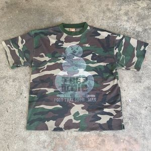 Other - Young Jeezy Trap or Die Camo Snowman Mens T-Shirt